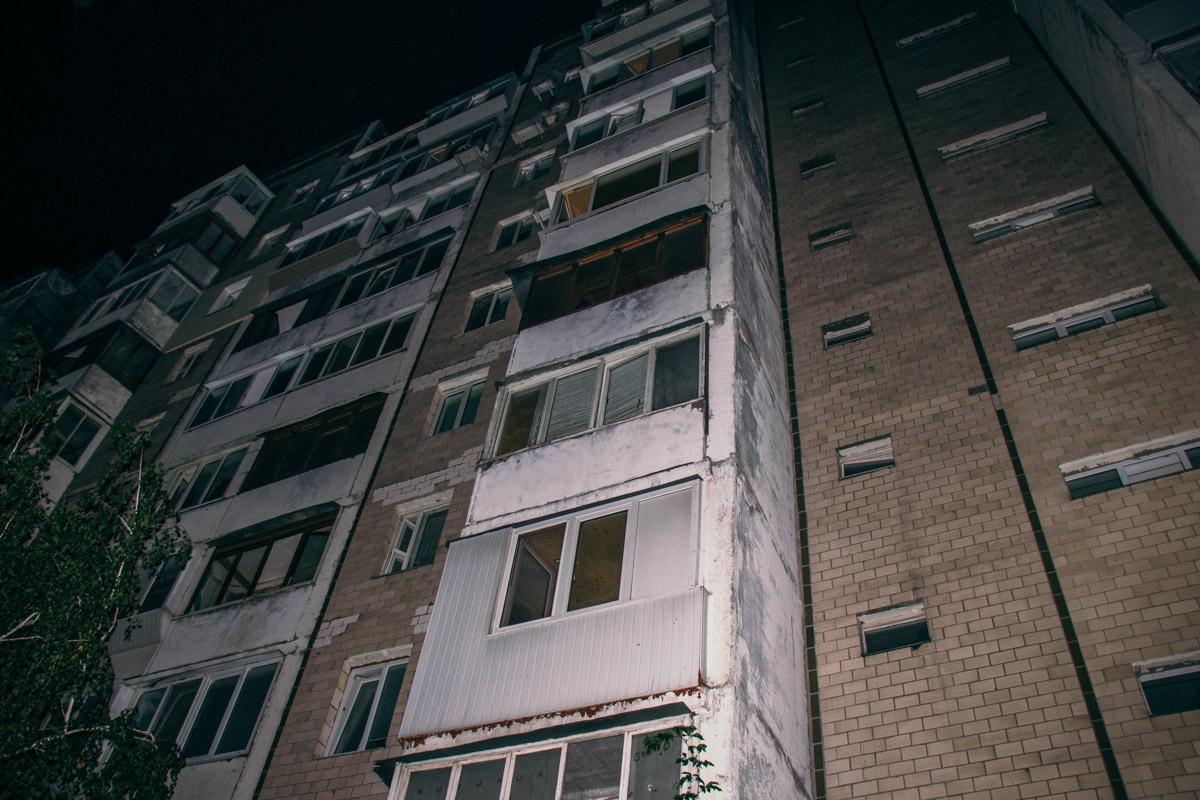 В ночь на 2 сентября в Киеве по адресу Радунская, 38 убили мужчину