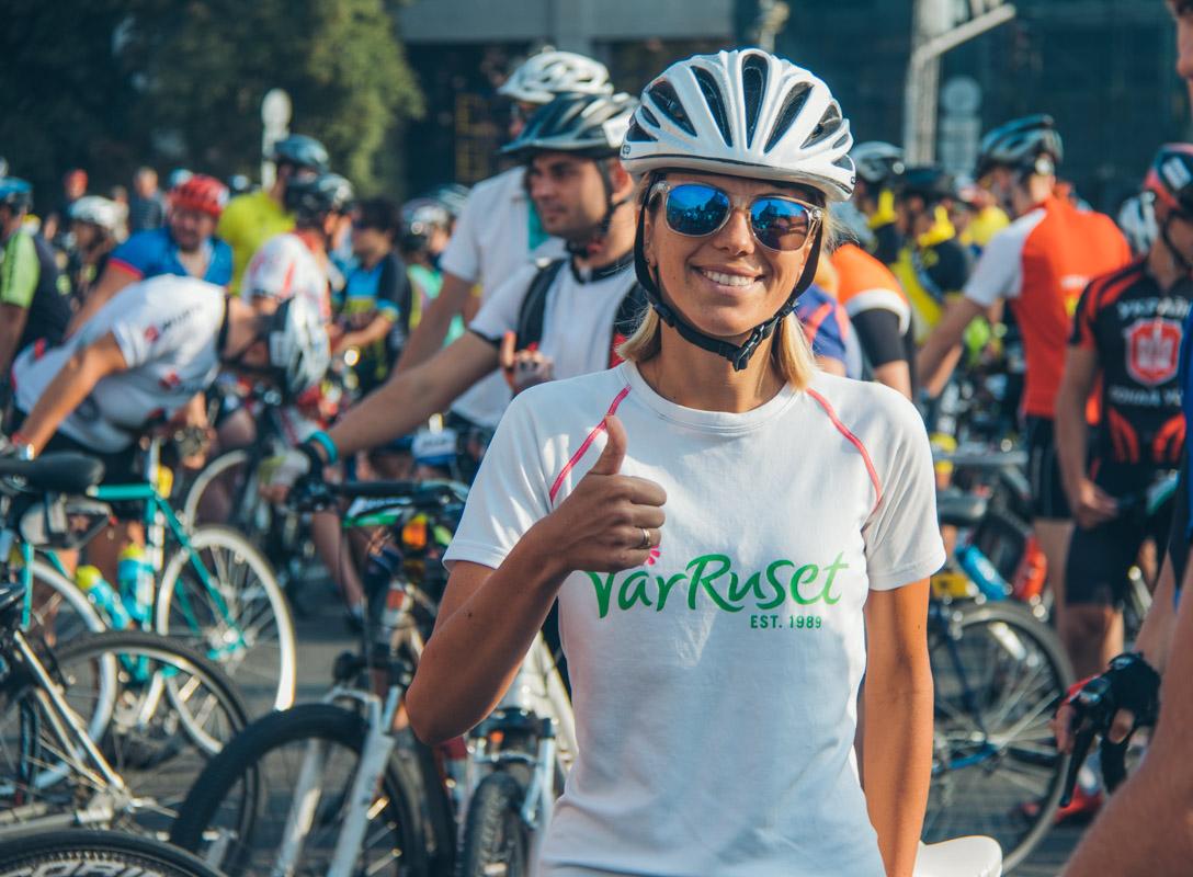 Цель такой гонки - популяризация здорового образа жизни и экологического вида транспорта