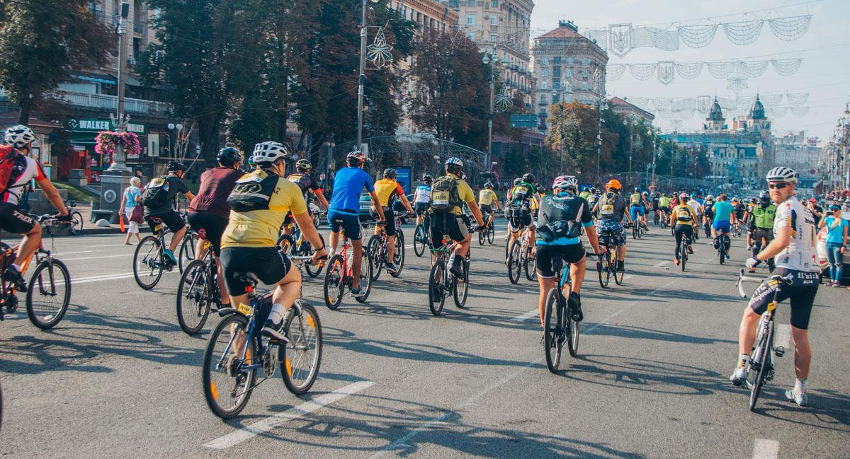 Из-за проведения марафонав Киеве перекрыли улицу Крещатик