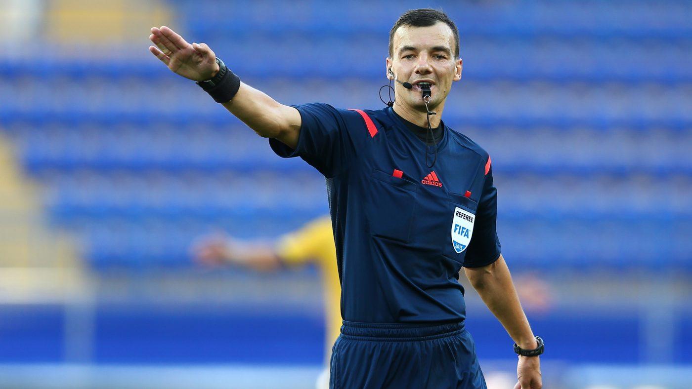Сергей Бойко станет главным арбитром на матче Лиги наций