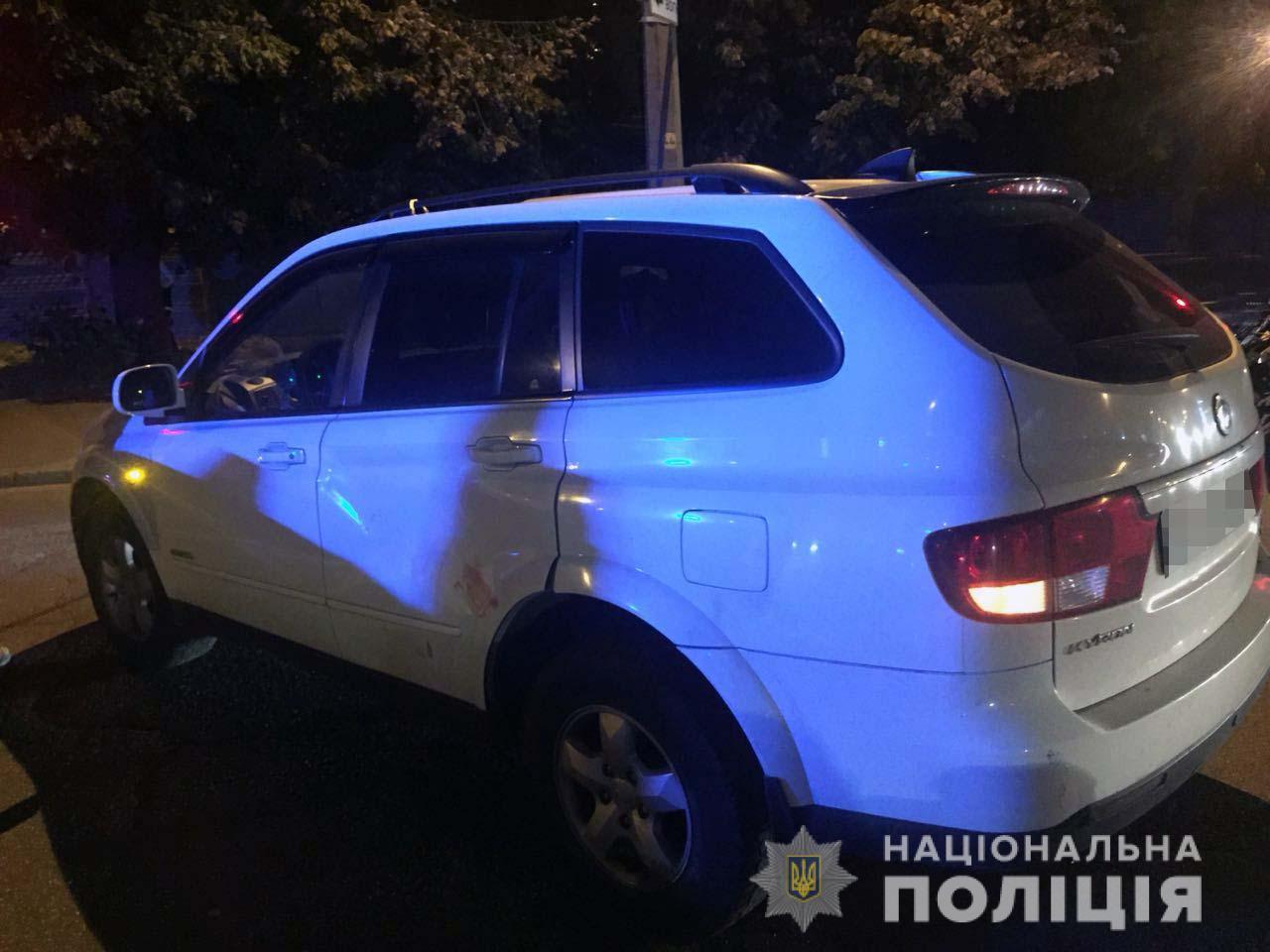 46-летняя женщина-водитель Ssang Yong не находилась в состоянии алкогольного опьянения