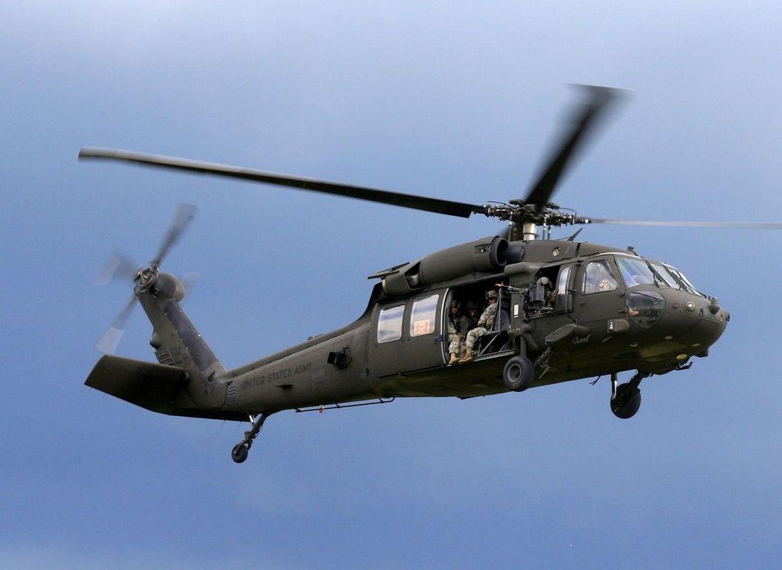 В Афганистане разбился разбился военный вертолет