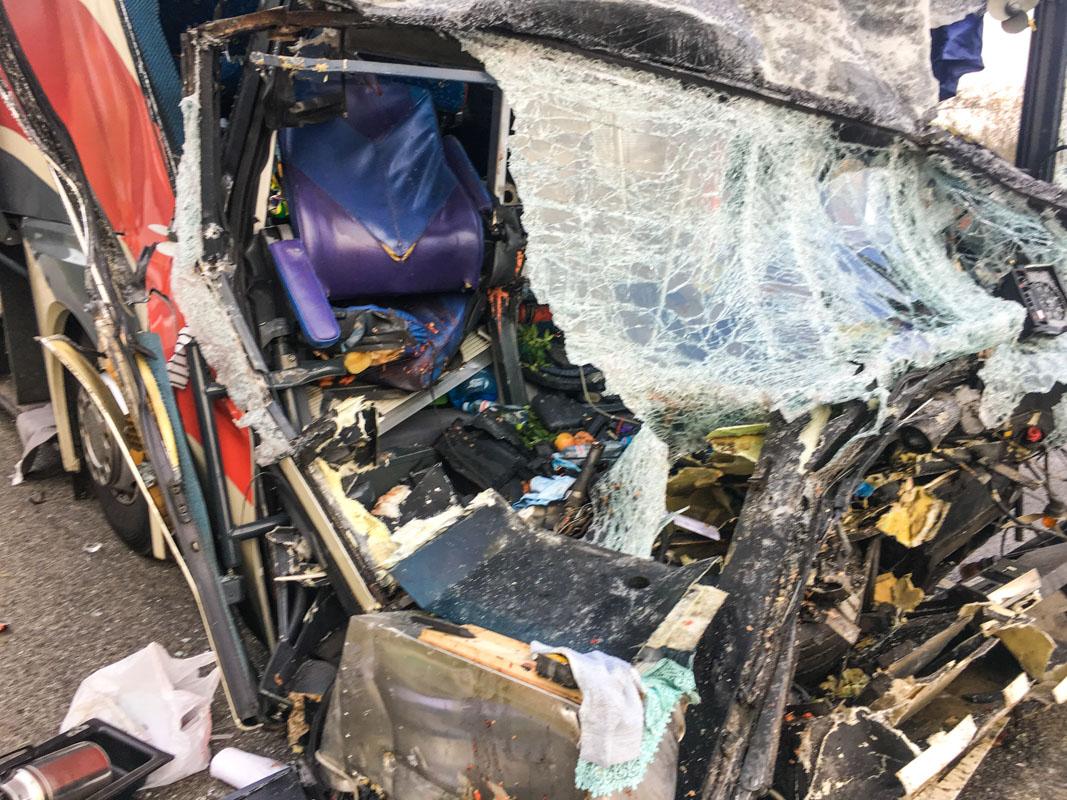 Еще четыре пассажира автобуса получили травмы