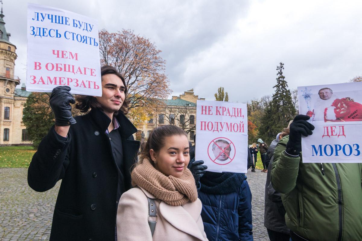 Среди участников акции не только учащиеся, но и неравнодушные граждане