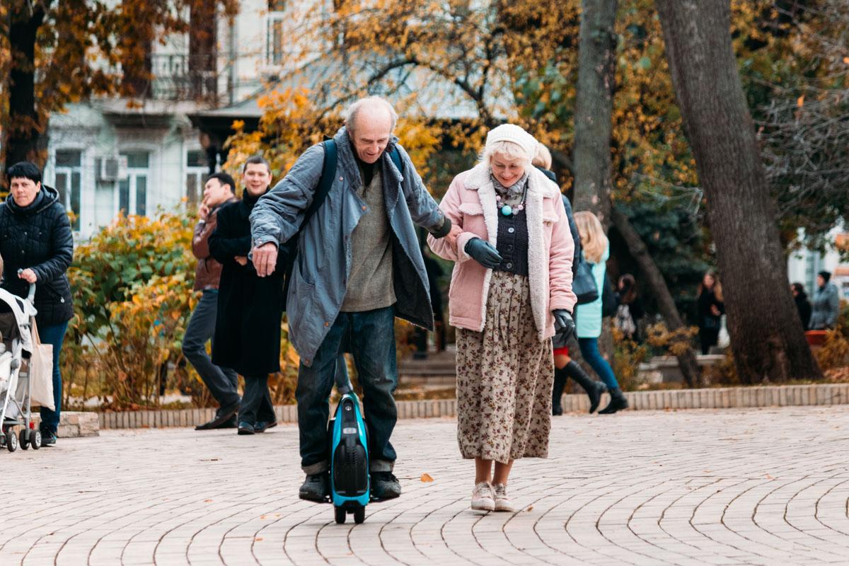 Любовь окрыляет. В любую погоду, в любом возрасте. ВСЕГДА!