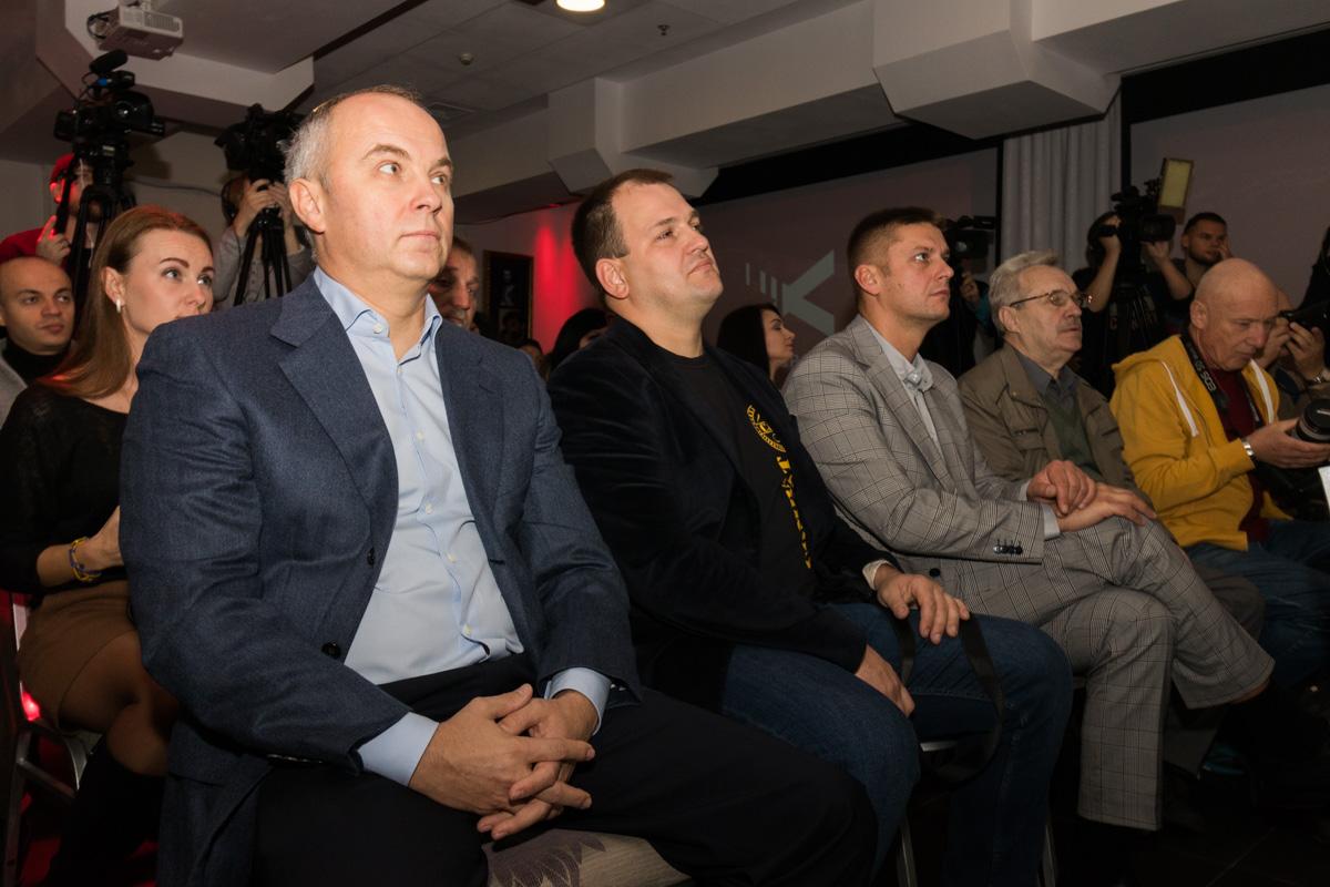 """Также среди гостей был экс-президент """"Говерлы"""" и политик Нестор Шуфрич"""