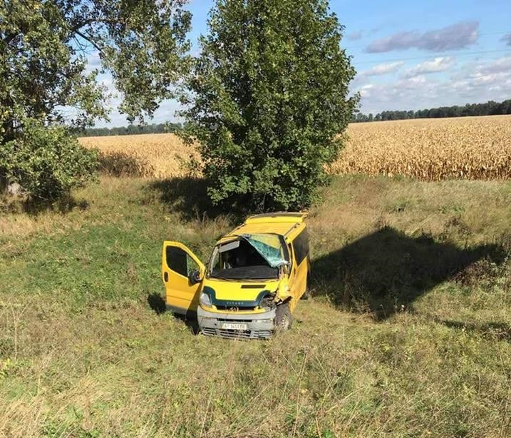 Авария случиласьпод селом Рогозов около 12:20