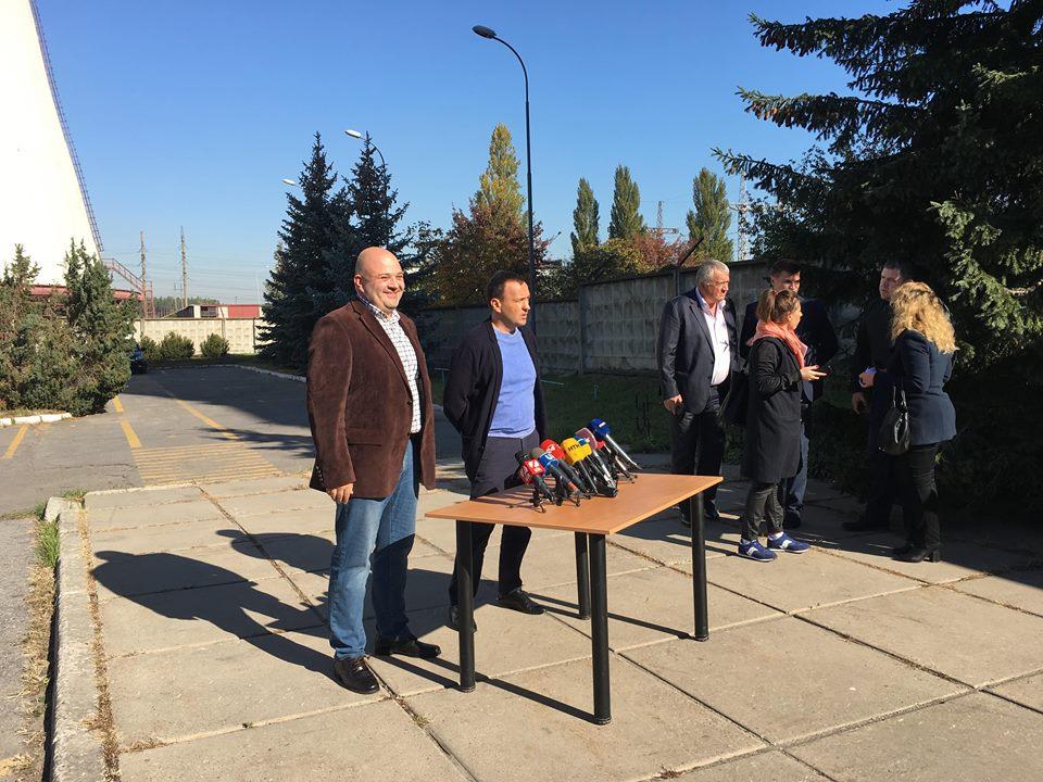 12 октября прошел пресс-брифинг Петра Пантелеева по вопросам горячего водоснабжения и отопления