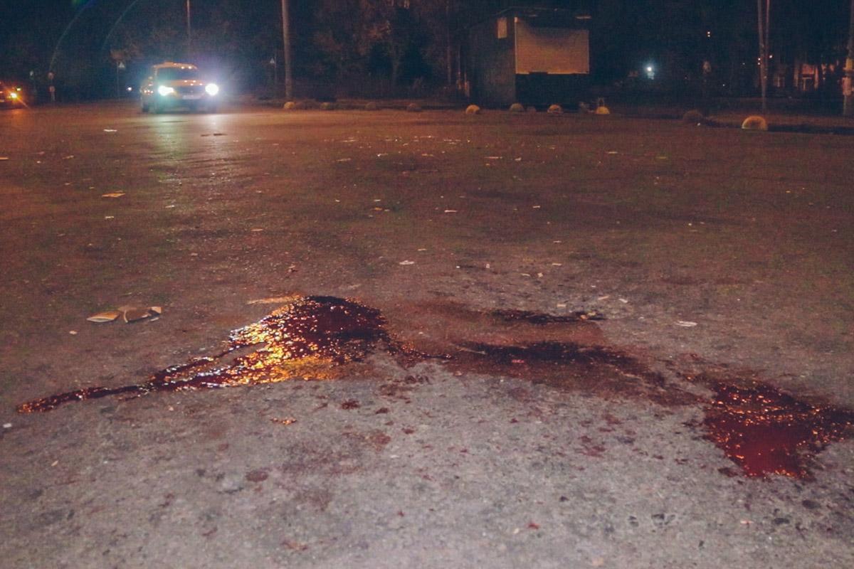 По данным полиции, пострадавший мужчина выжил, хотя получил очень серьезные травмы