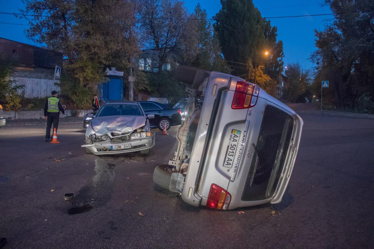 16 октября, на пересечении улицы Сумской и Амурской произошло ДТП с пострадавшими