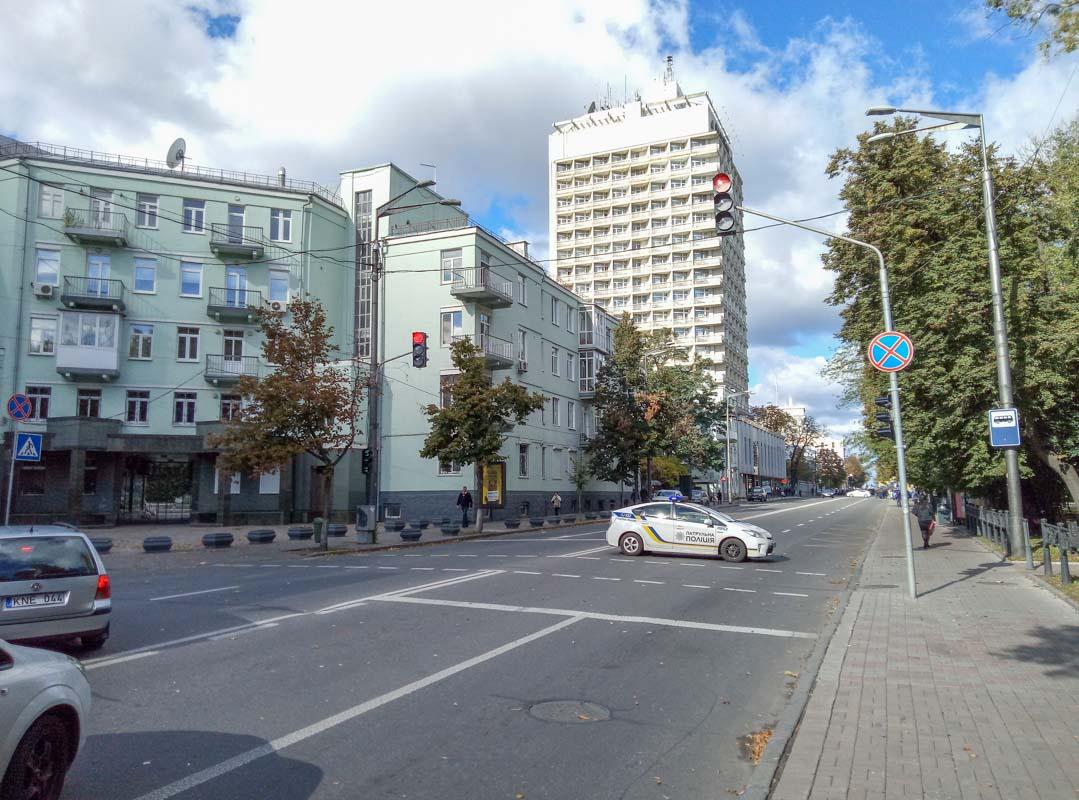 В Киеве проходит марш членов НАН Украины