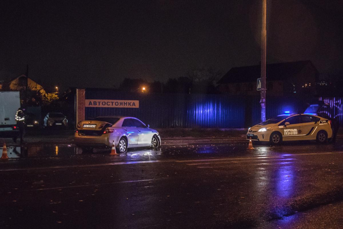 23 октября на улице Дмитрия Луценко произошло ДТП