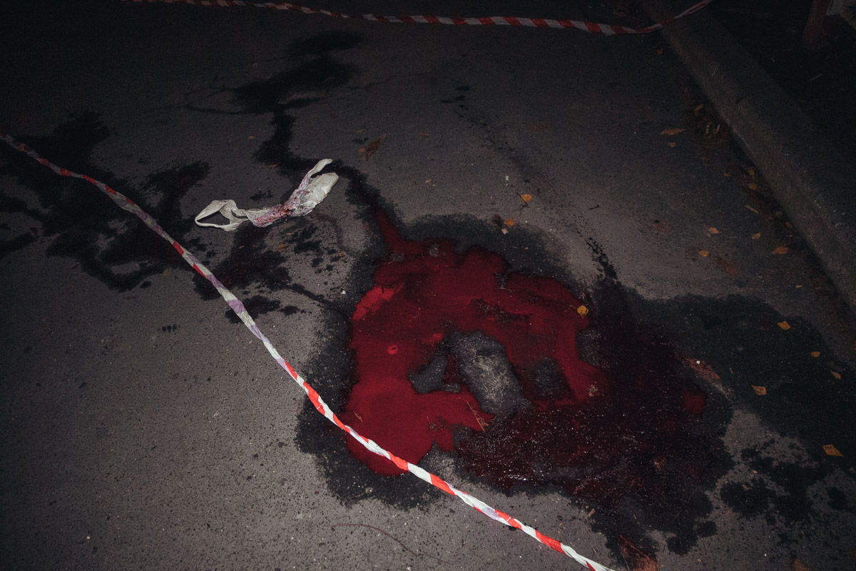 Мужчина 1979 года рождения истек кровью из бедренной артерии