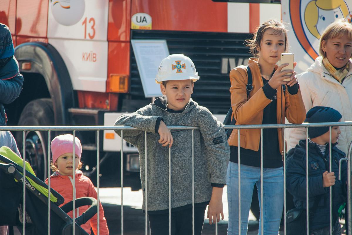 Праздник организовывали Государственная служба Украины по чрезвычайным ситуациям и Немецкая федеральная компания GIZ