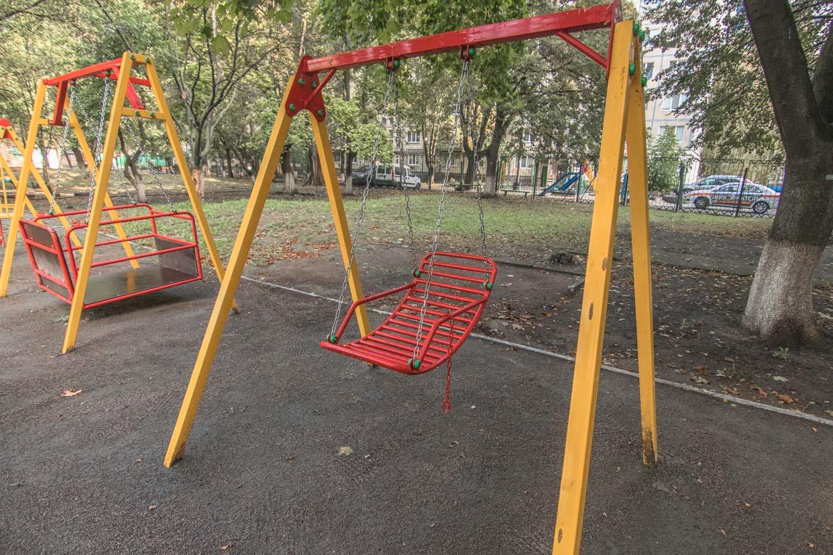 В Киеве таких очень мало, хотя за границей постройка таких площадок - нормальная практика