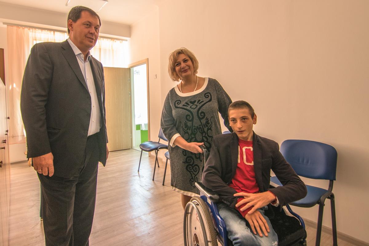 16-летний Антонио радуется переменам