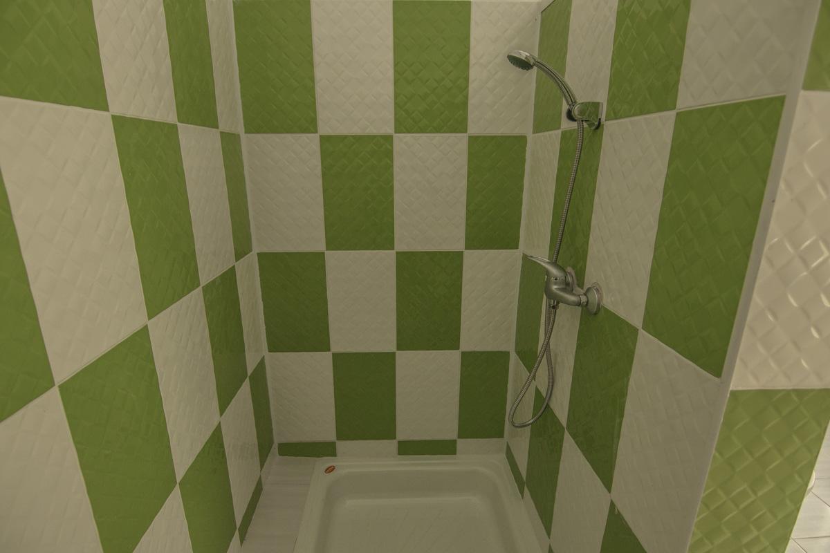 Так выглядит отремонтированный душ