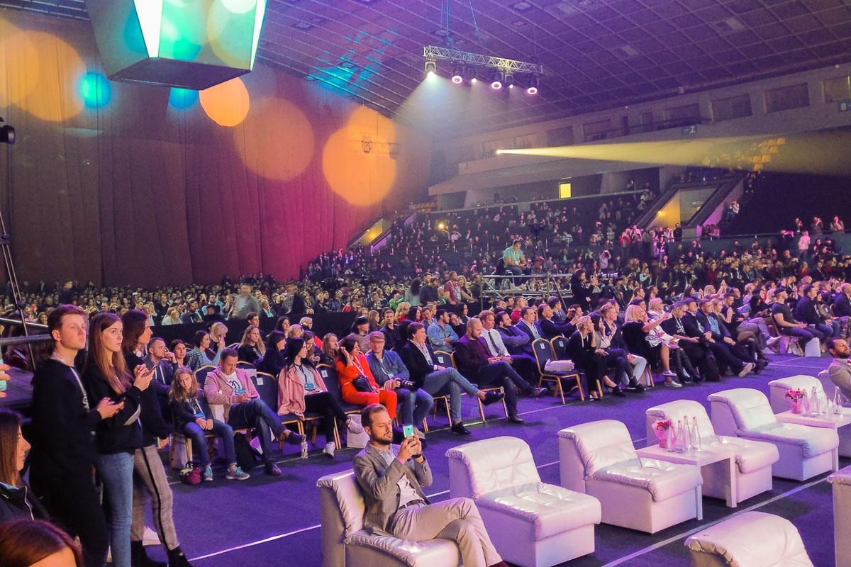 """13 октября во """"Дворце Спорта"""" прошел масштабный бизнес-форум Olerom Forum One"""