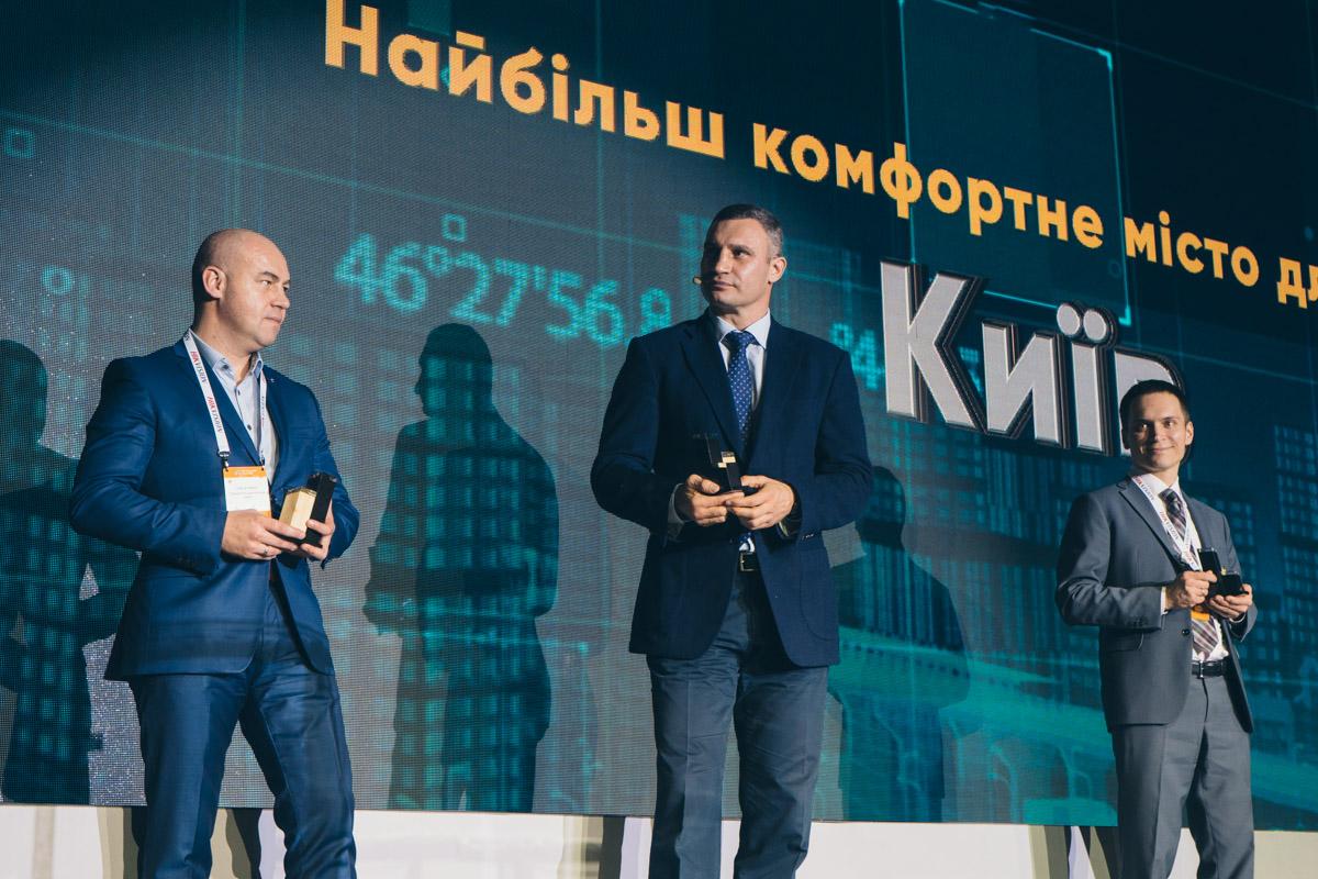 """Киев выиграл в номинации """"Самый комфортный город для жизни"""""""