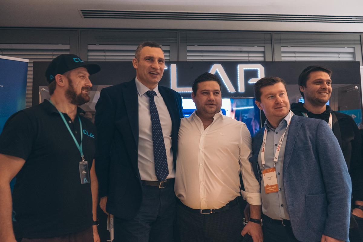 Мероприятие посетил и мэр Киева - Виталий Кличко