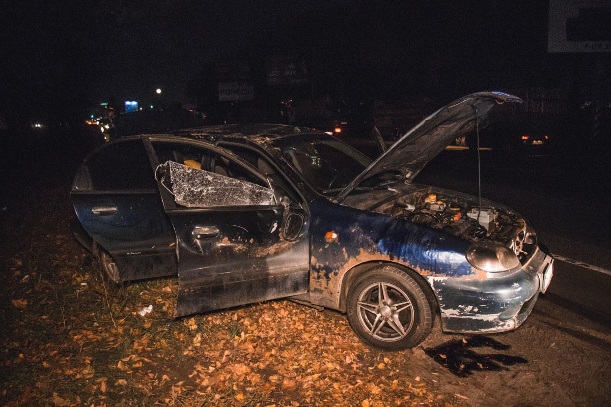 Есть подозрения, что водитель находился в нетрезвом состоянии