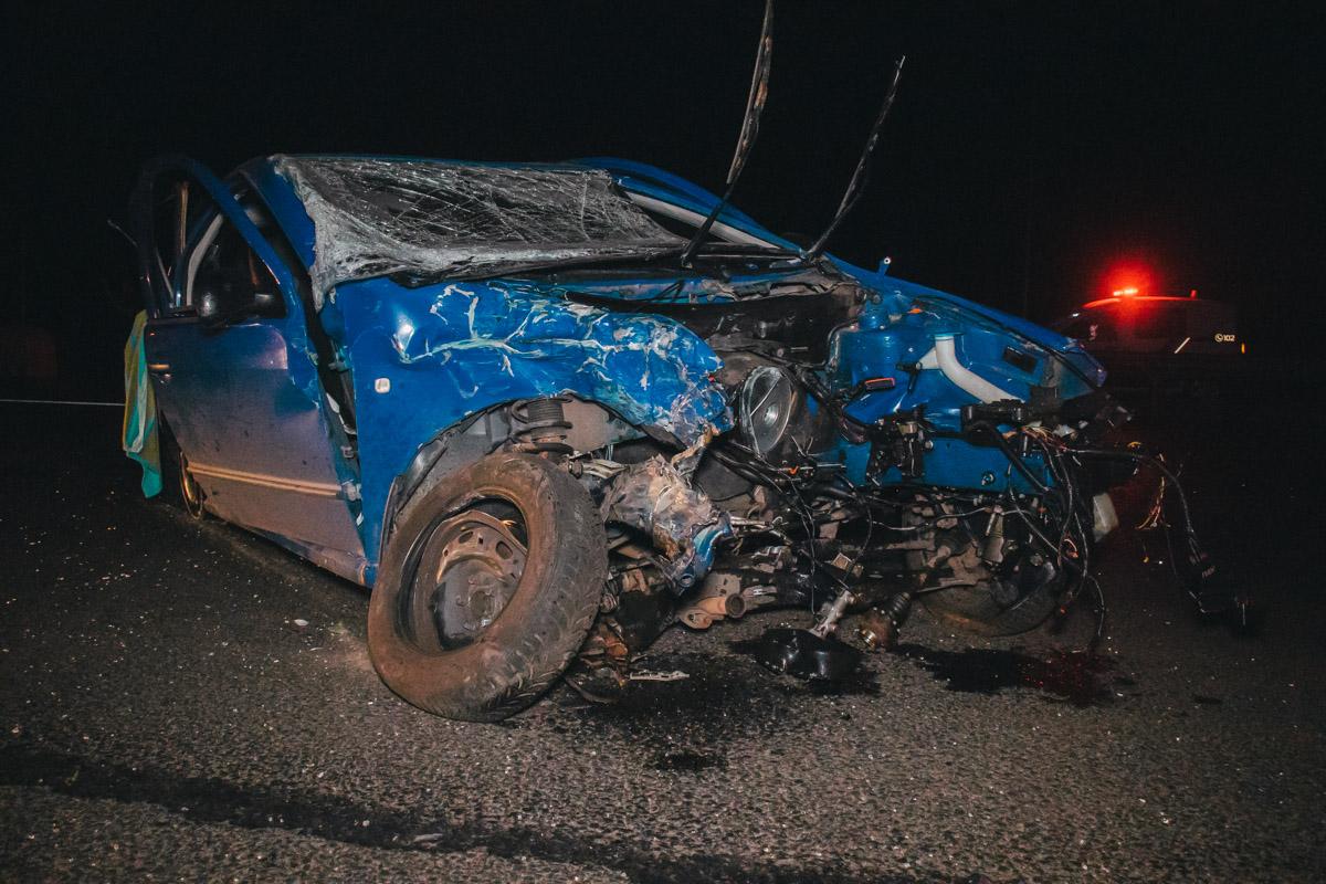 Больше всего пострадал водитель Skoda