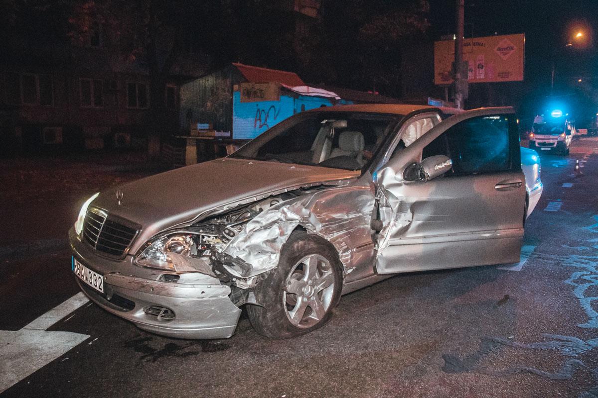 Столкновение произошло на перекрестке бульвара Петрова и улицы Петра Запорожца