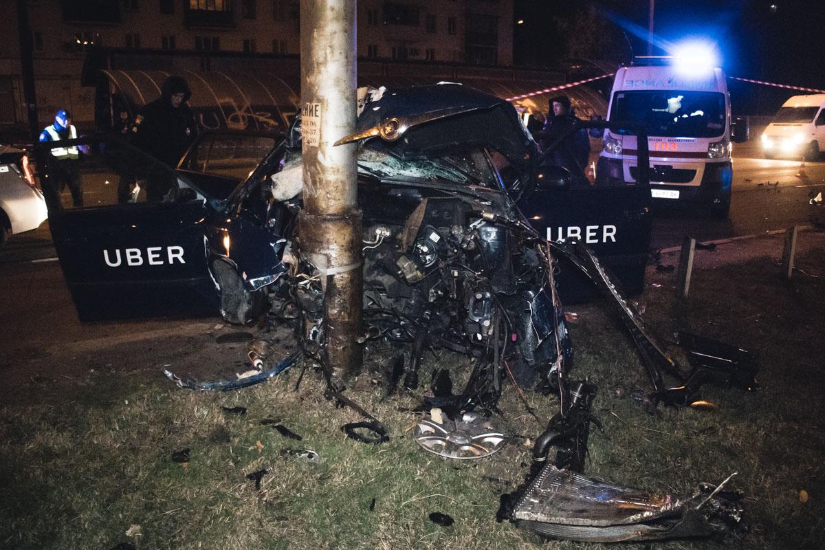 У патрульных есть подозрения, что водитель находился в состоянии алкогольного опьянения