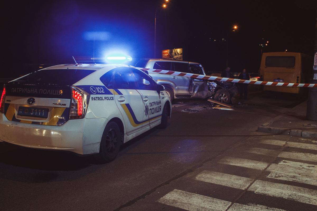 5 октября в Киеве на проспекте Академика Глушкова, возле станции метро Ипподром, произошло ДТП с пострадавшими