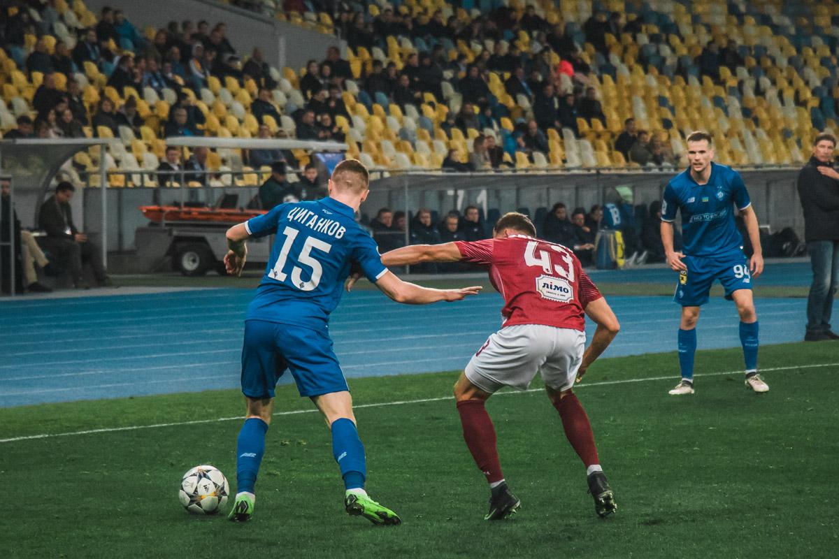 Игра проходила в рамках 13 тура Чемпионата Украины