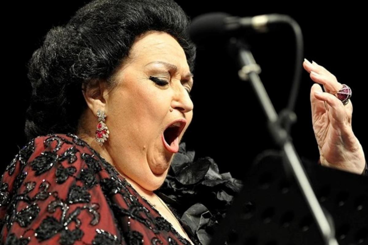 Известная испанская певицаМонсеррат Кабалье умела в возрасте 85 лет