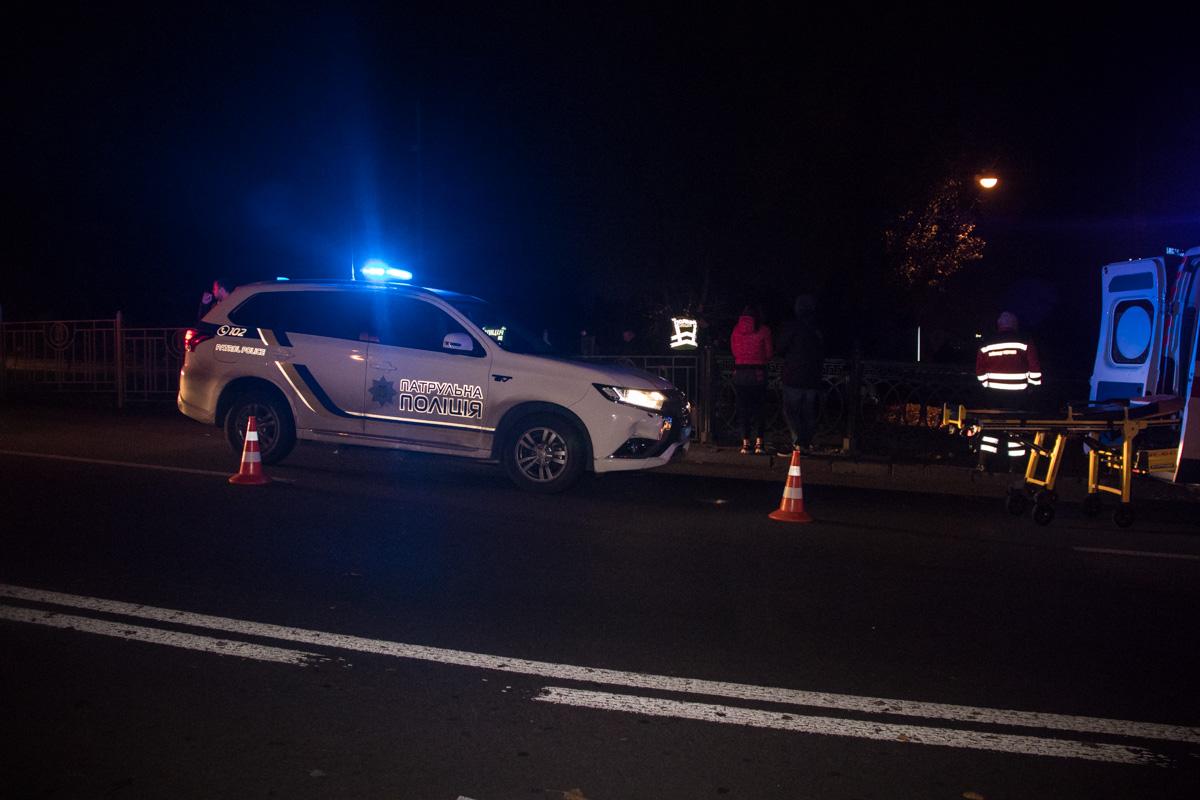 Пострадавший пытался перейти дорогу в неположенном месте