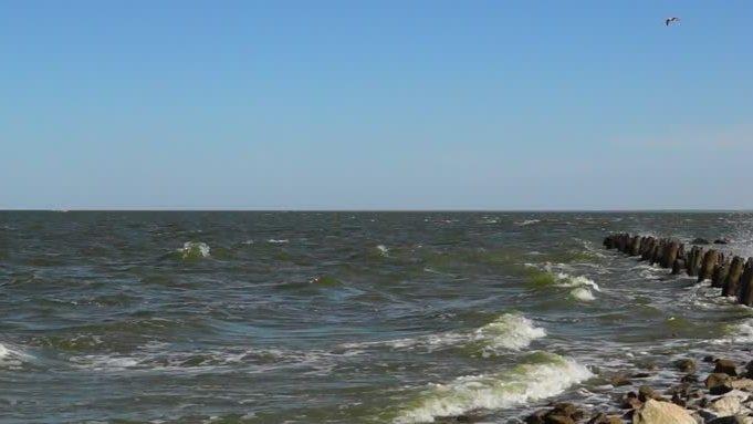 У берегов Азовского моря произошло мощное землетрясение