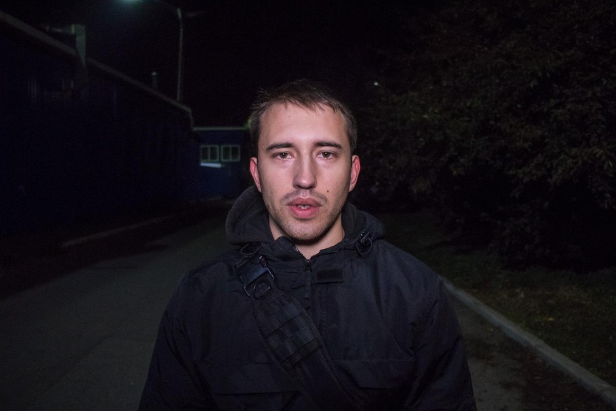 Милиция  передала  детали  нападения совзрывчаткой наквартиру координатора С14