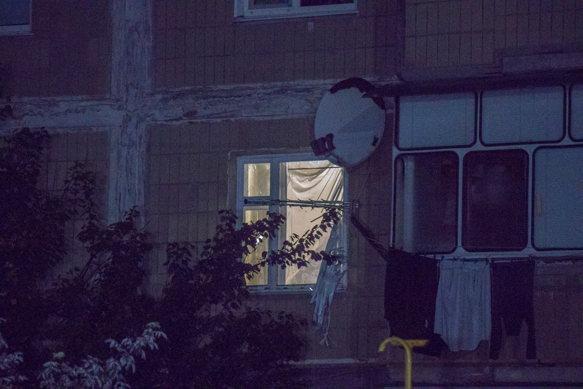 В ночь на 10 октября в Борисполе по адресу улица Момота, 52 прогремел взрыв в квартире
