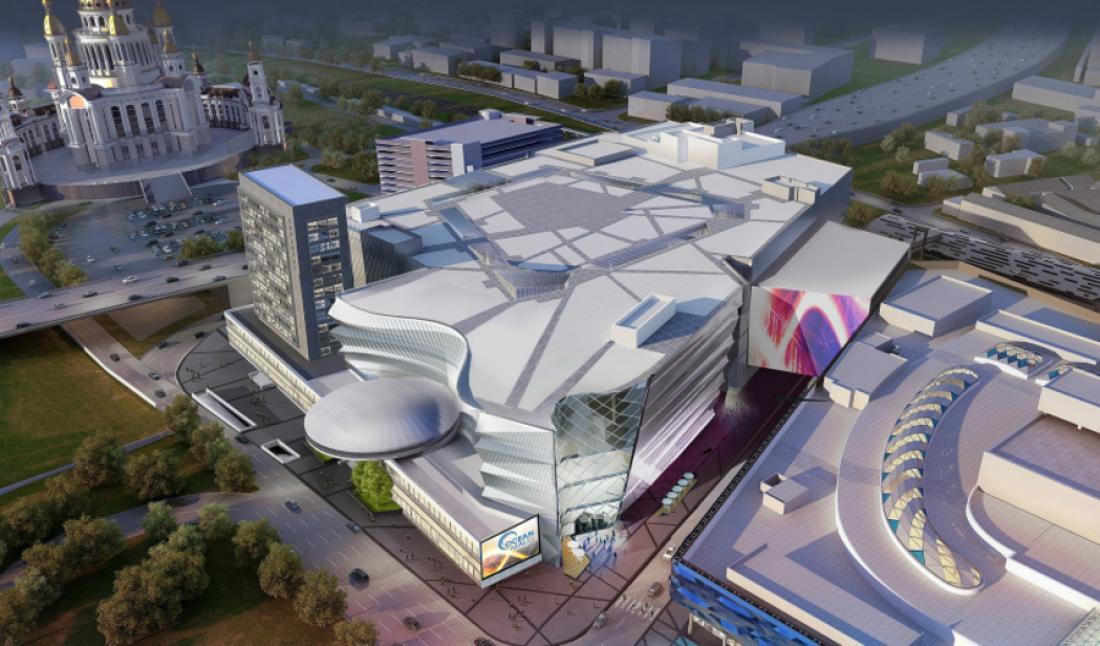 Застройщик опубликовал план и визуализацию торгового центра