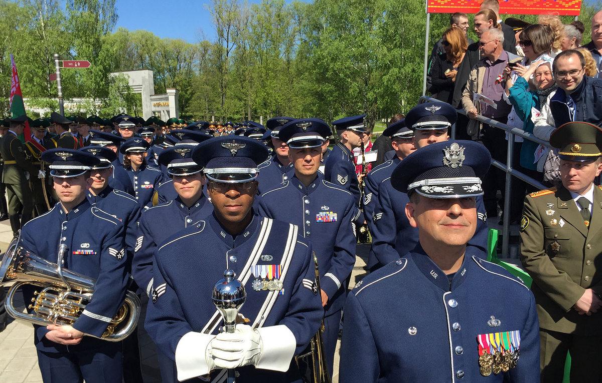 Совместный концерт Оркестра ВВС США в Европе - The USAFE Band и Национального Президентского оркестра