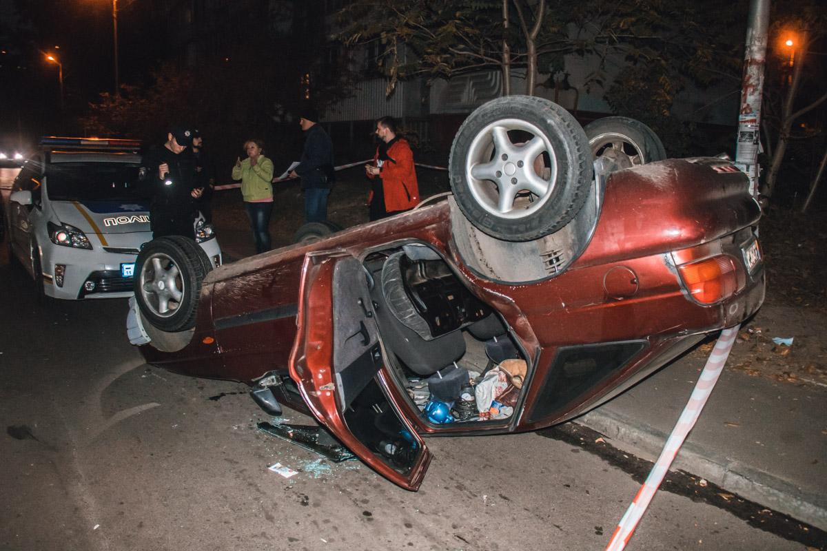 Нетрезвый водитель автомобиля Ford Escort врезался в Skoda Octavia и внедорожник Lexus RX 400h