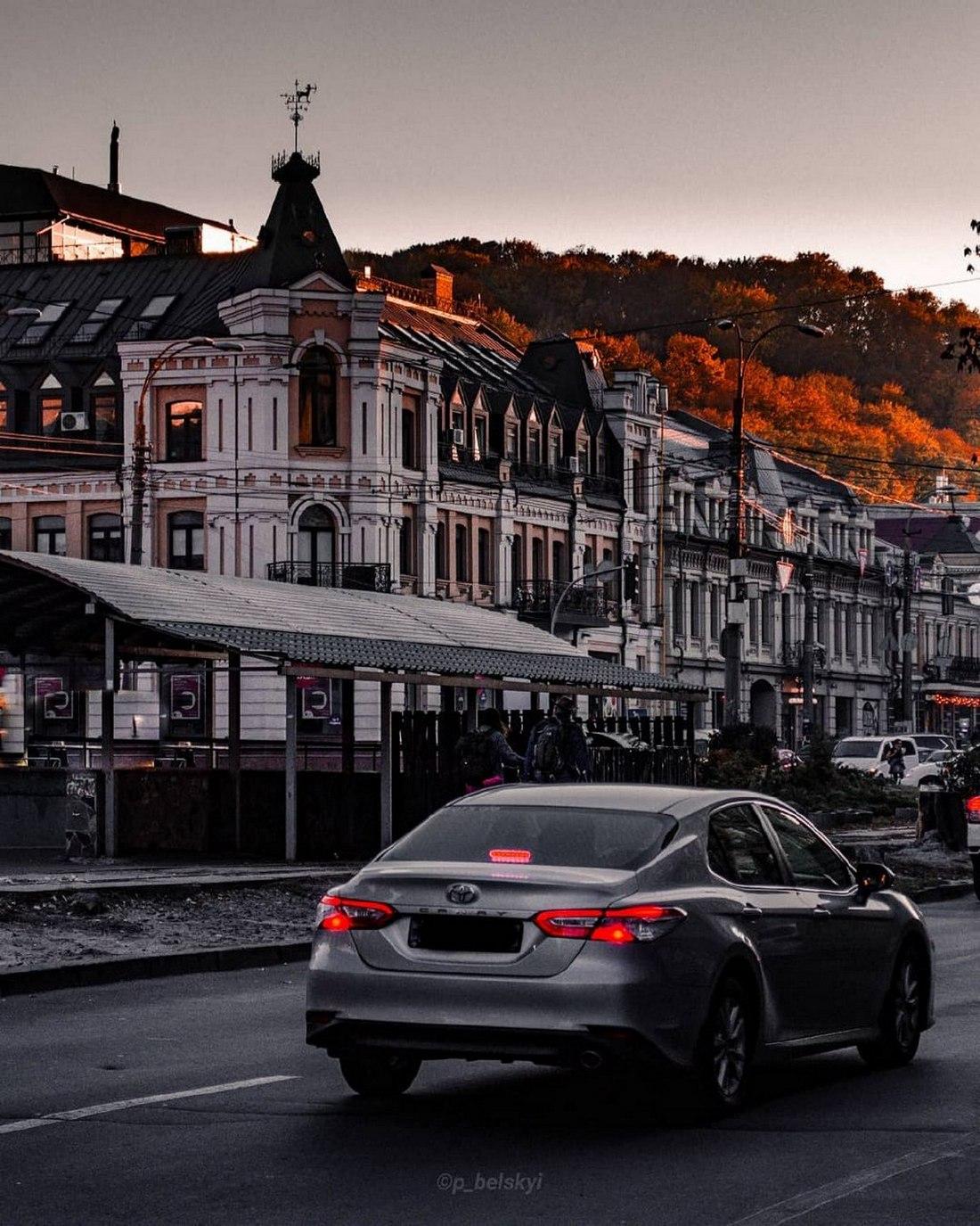 Мы куда-то спешим, не замечая красоты города. Фото: @p_belskyi