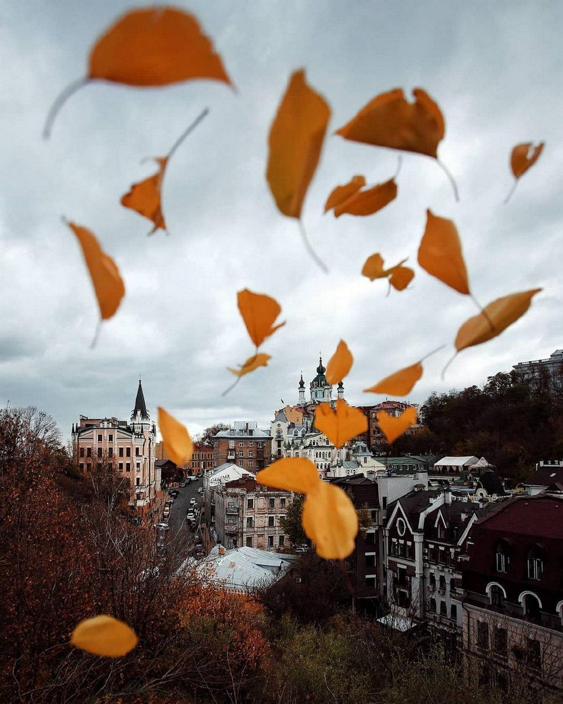 Осенняя романтика столицы. Фото: @istetsen