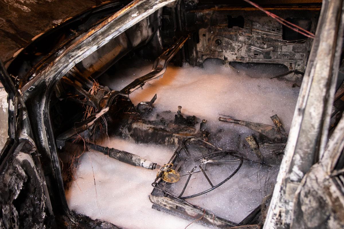 Возгорание пошло от газовой установки