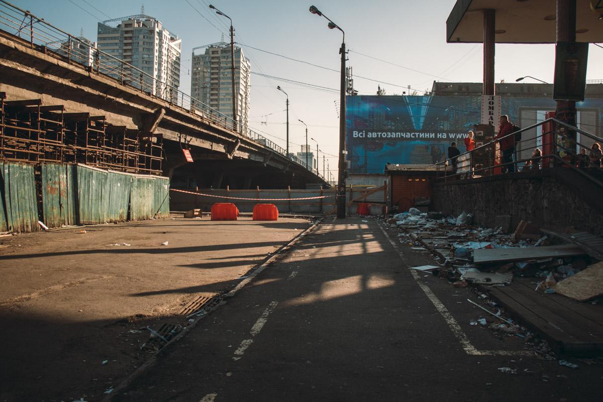 Работы по подготовке моста к масштабной реконструкции обещают закончить уже 3-4 ноября