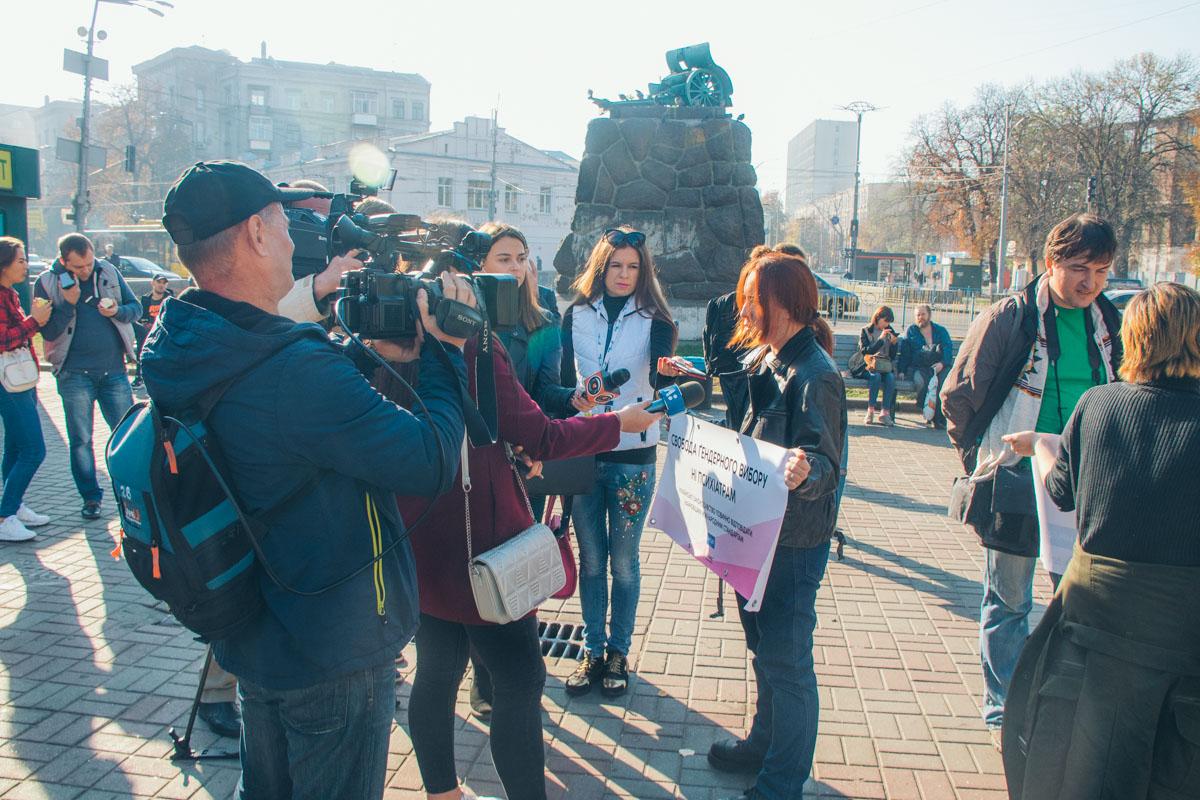 Организатор сообщил, что на марш должны были прийти больше участников
