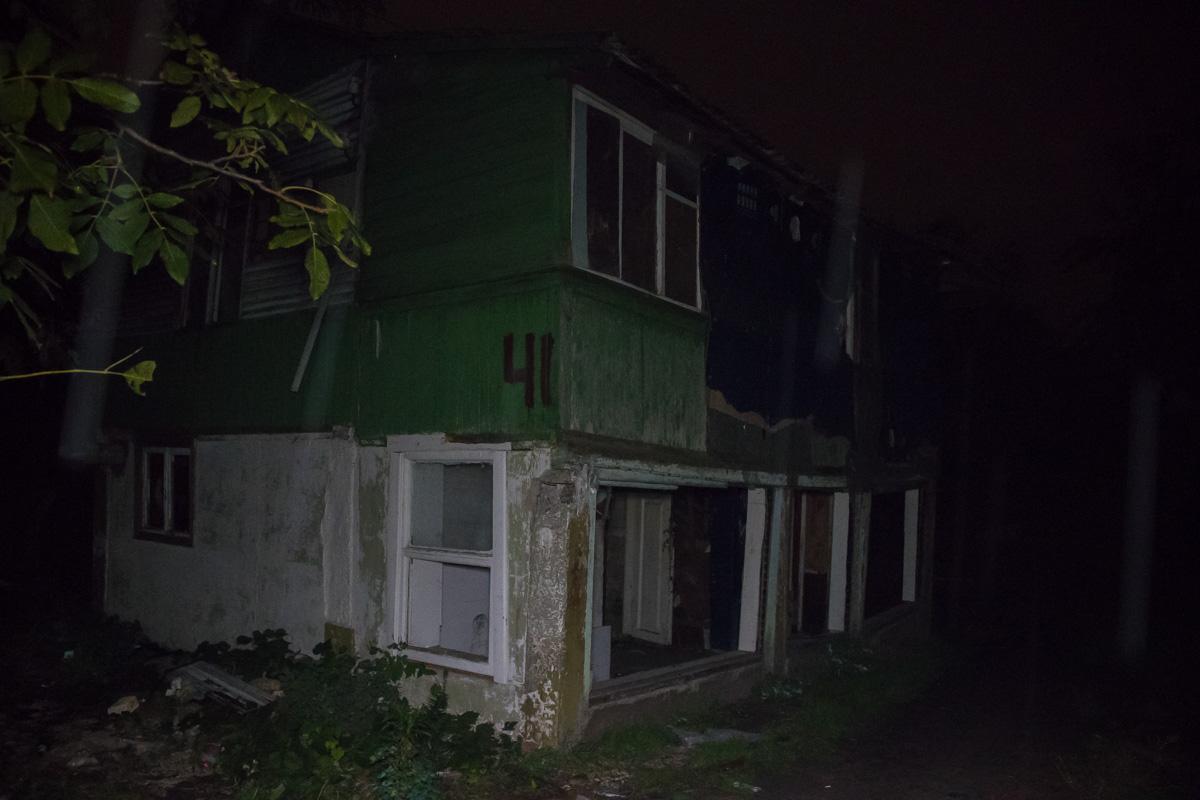 В Киевев заброшенном домена Русановских садахнашли тело мужчины