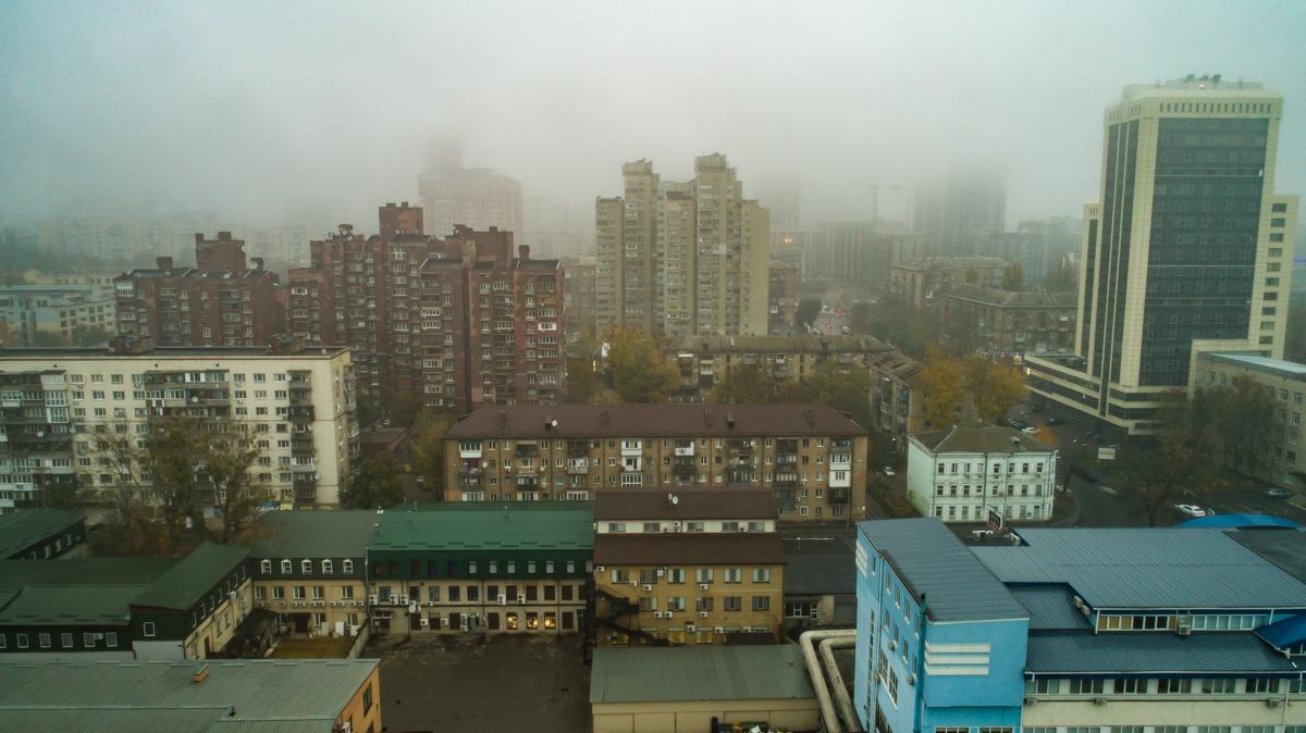 Утренний серый город. Но все же такой любимый!