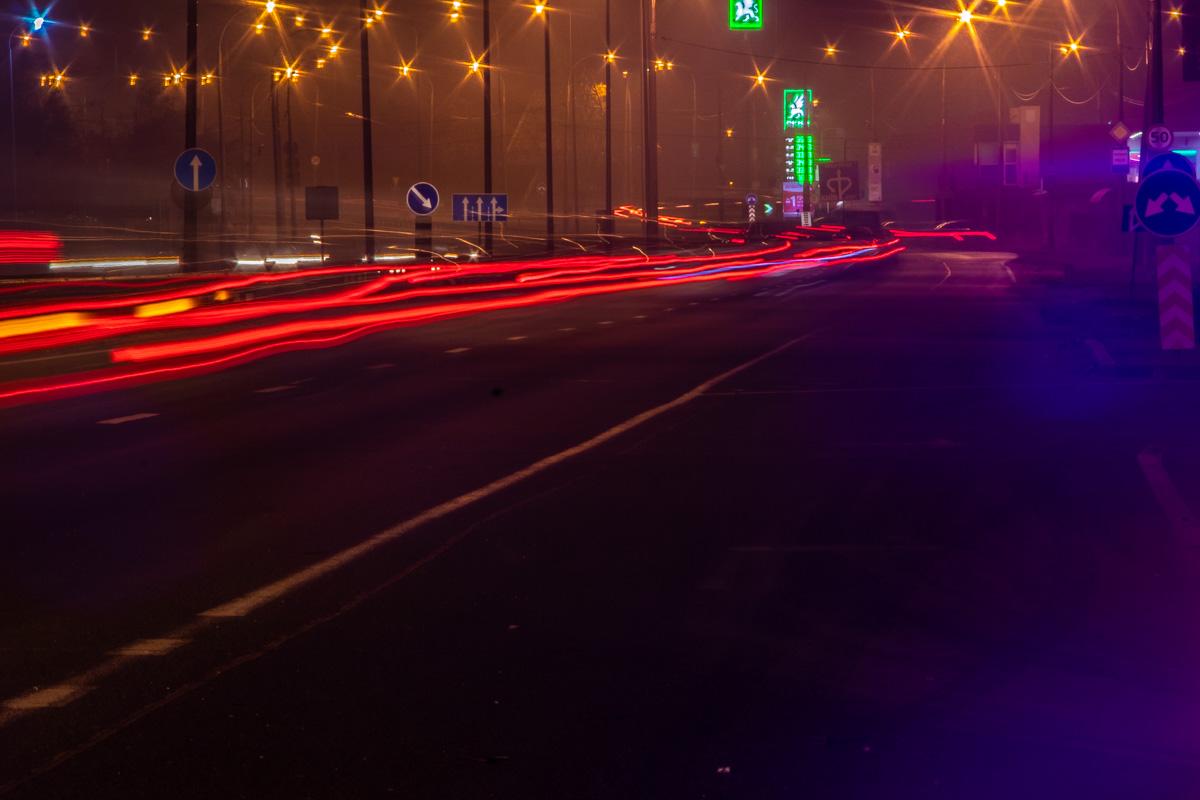 В связи с этим видимость на дорогах будет ограничена до 200-500 метров