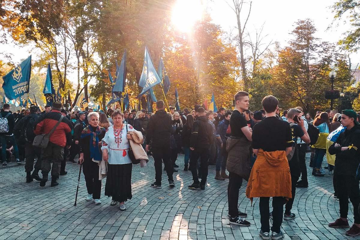 Марш стартует от парка имени Тараса Шевченко