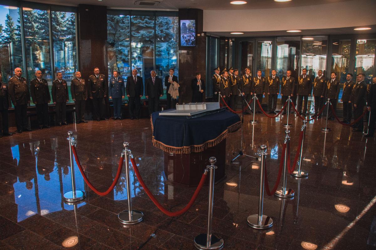 Торжественная часть проходила в помещении Зала памяти