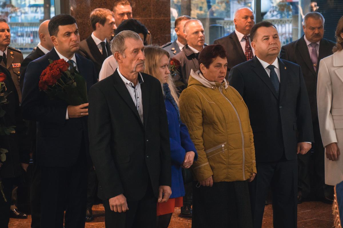 Главными гостями Зала памяти были родственники и близкие павших солдат
