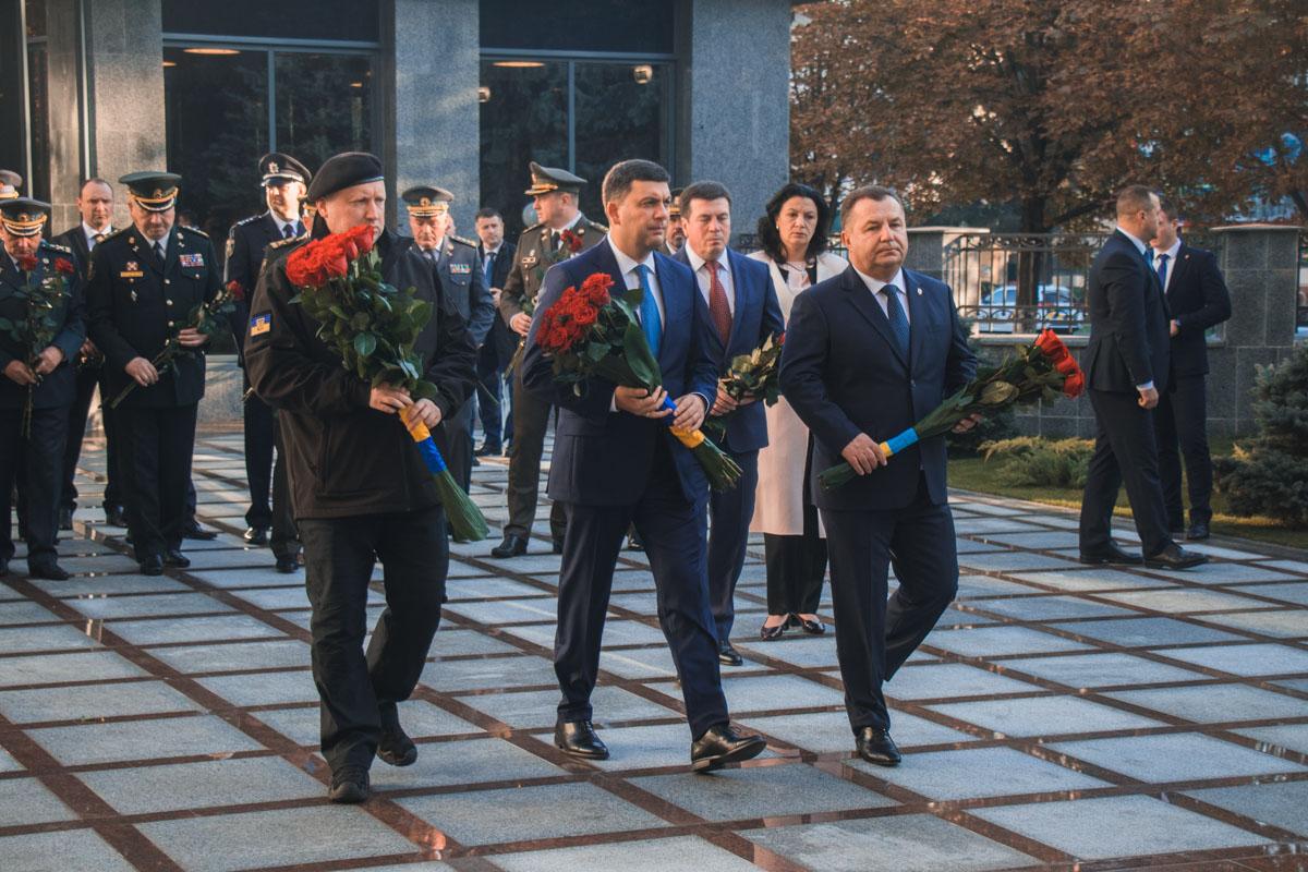 На открытии присутствовал премьер-министр Украины Владимир Гройсман